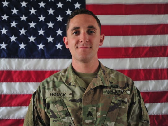 Sgt. Eric M. Houck, 25, of Baltimore, Maryland