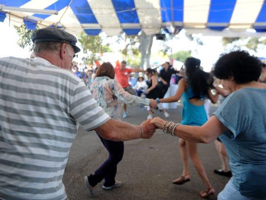 The Ventura County Greek Festival at the Camarillo