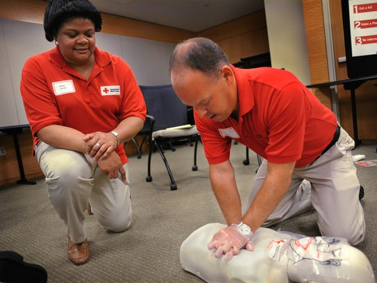 The American Red Cross offers CPR/AED First Aid classes