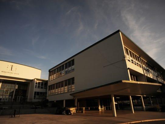 Hillsboro High School in Green Hills was built in 1954.