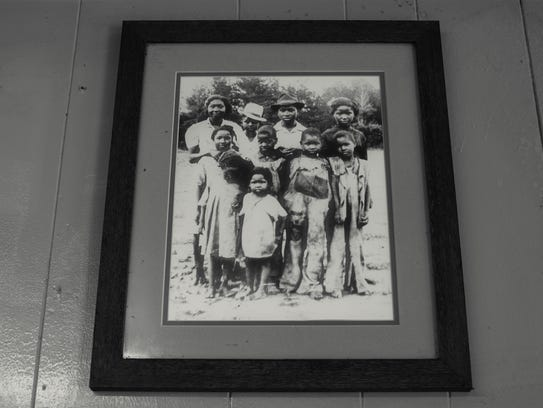 Eddie Wilson and his family were sharecroppers in Brookhaven