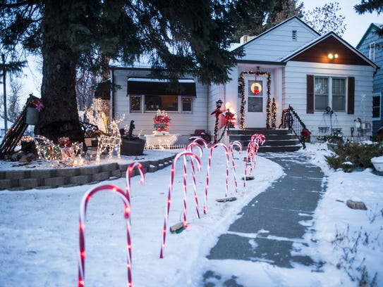 Candy Cane Lane shows off the best Christmas displays in Great Falls from 7-9 p.m. Dec. 15 and 16.