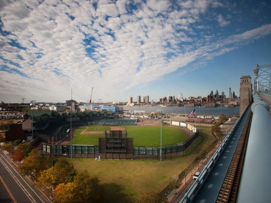 Campbell's Field once the home of the Camden Riversharks