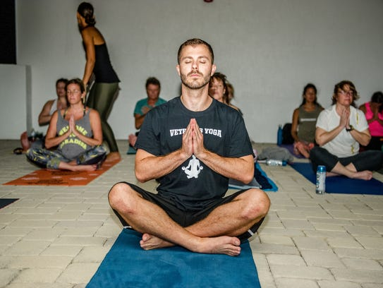 One of the benefits of Yoga can be that it opens up