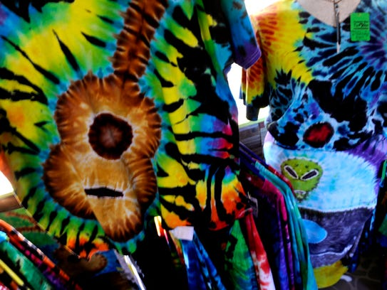 Corrie Wolfe gets her inspiration for tie-dye creations