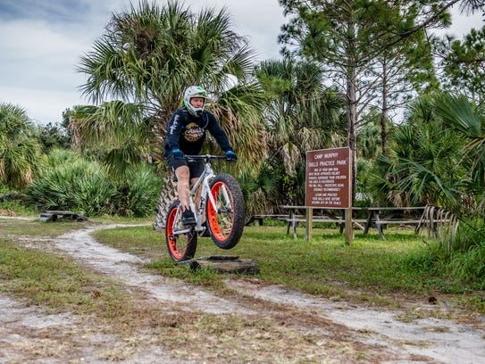 In addition to building all of the trails, Club Scrub