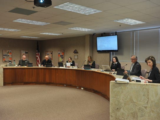 The Minnehaha County Commission meets for a regular