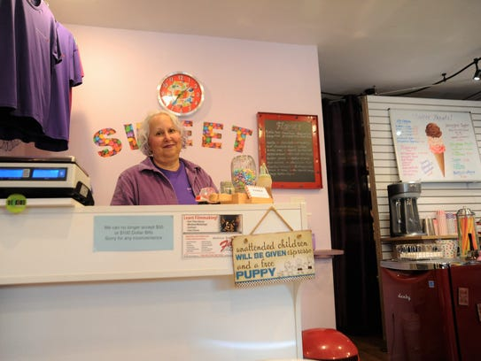 Sweet on Cherry Street owner Sydney McDougle was among