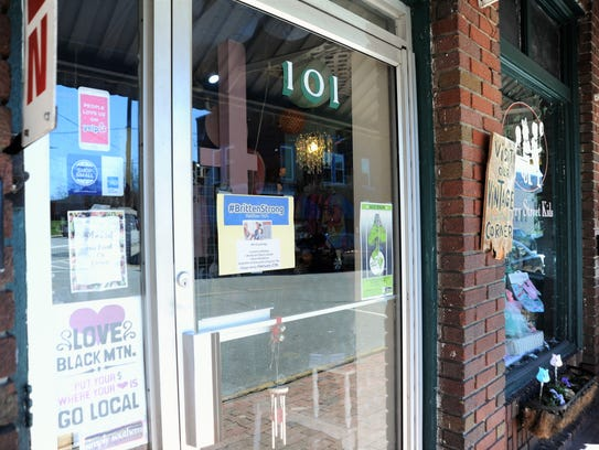 Cherry Street Kids posted a sign on its door on Feb.