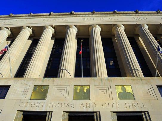 Nashville's Metro Courthouse