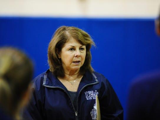 IHA coach Maria Nolan.
