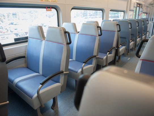 PATCO entered the first of its  renovated cars into