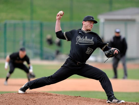 Hard-throwing right-hander Jake Lee credited a weight