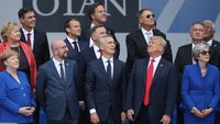 Long week? Short list. Here's a roundup of all the stories you missed: Trump NATO summit, China tariffs, Apple theft thwarted and Kylie Jenner, billionaire. #TheShortList