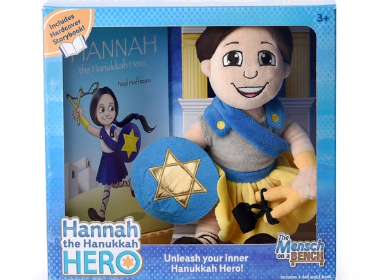 Hannah the Hanukkah Hero All ages Hannah the Hanukkah