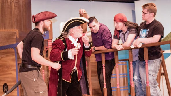 """Part of the cast from """"The Mystery of Pirate's Cove"""""""