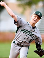 Fairfield's Coleman Sachs tossed a complete game against