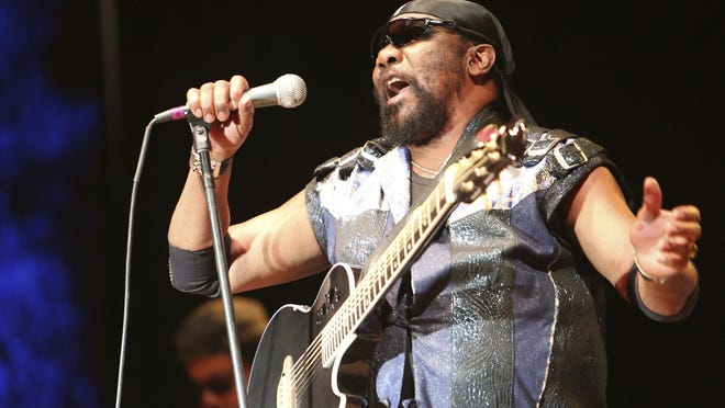 In this July 13, 2019, file photo, Toots Hibbert performs with the Maytals in Grass Valley, Calif.