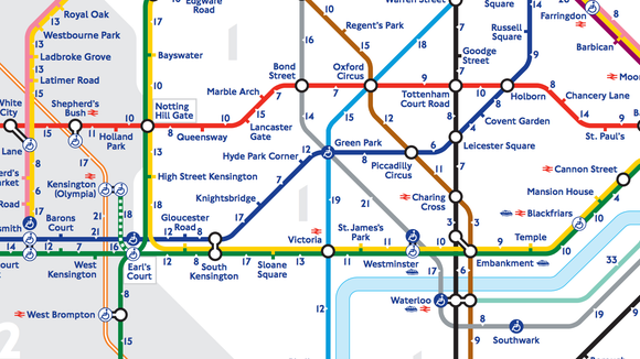 London Stations Map.This Neat London Tube Map Shows You How Long It Takes To Walk Yes