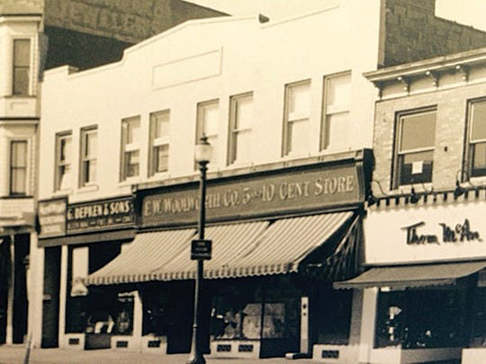 Woolworth operated at 52 Park Ave. in Rutherford until 1998. This photo, taken in the 1930s, shows that the store's neighbors included the coal dealer G. Depken & Sons and Thom McAn Shoes.