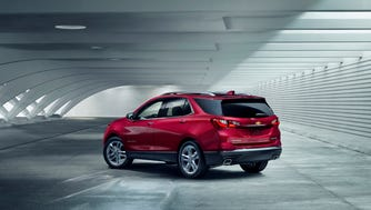 Chevrolet Equinox, one of the top selling  SUVs, is all new for 2018