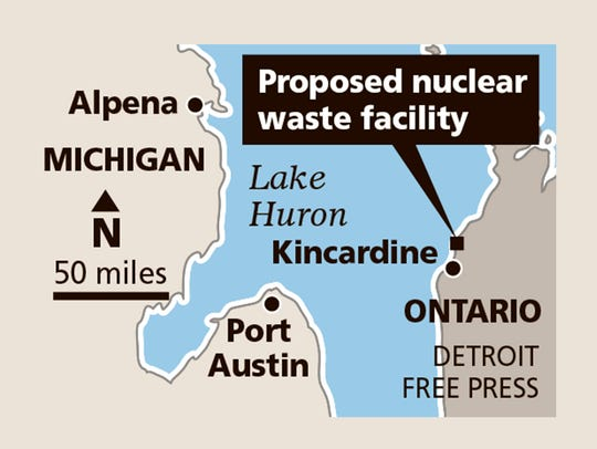 Proposed nuclear waste facility