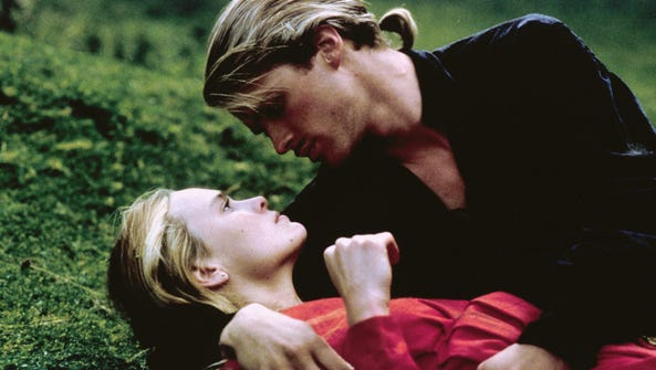 Robin Wright, left, and Cary Elwes star in the 1987