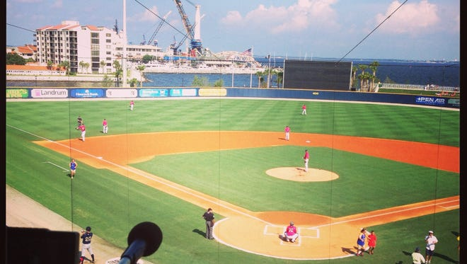 Pensacola's Bayfront Stadium is the second-best stadium in the minors, according to one ranking.