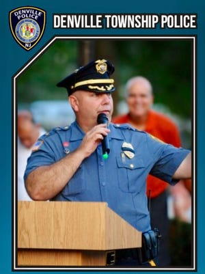 Denville police start a trading card program featuring officers in baseball-like collectible cards. This is mock-up of what the cards may look like.