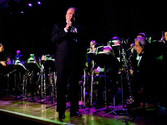 Singer Frank Sinatra, Jr. performs in 2011 at A Swingin' Affair gala benefiting the Alzheimer's Association held at the Riviera Resort & Spa in Palm Springs.