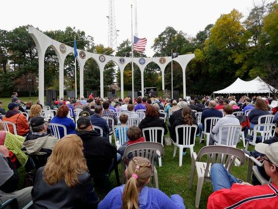An overall at the Sheboygan County Veterans Memorial