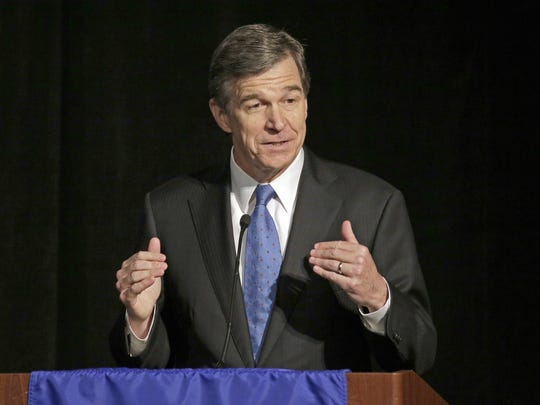North Carolina Gov. Roy Cooper said he wants Mission and Blue Cross to settle their dispute.