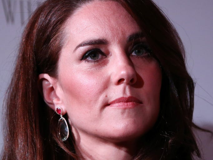 Art lover and royal patron Duchess Kate attended the