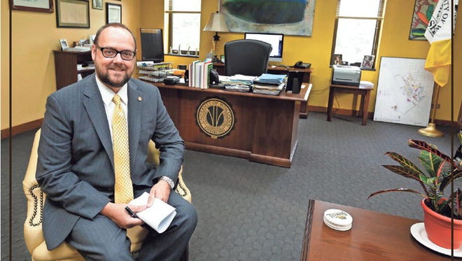 UW-Oshkosh Chancellor Andrew Leavitt is coming up on a year as the 11th Chancellor of UW-Oshkosh. He interviewed for the position last September and was hired to lead UW-Oshkosh in November after former Chancellor Richard Well retired in 2014.