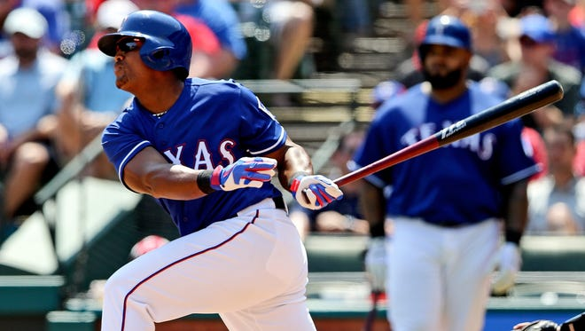 Adrian Beltre had the tiebreaking RBI single in the sixth inning.