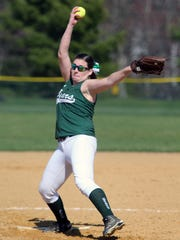 South Brunswick girls softball takes on East Brunswick at South Brunswick High School on Wednesday April 13, 2016