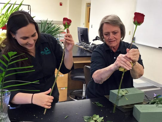 New Mexico State University Floriculture Program students