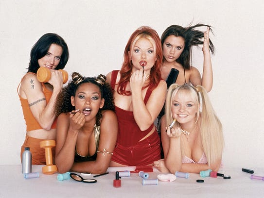The Spice Girls.