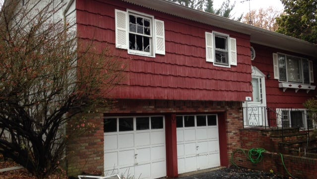 The house at 28 Harmony Road in Hillcrest suffered minor damages in a fire Wednesday, Nov. 11, 2015, in a second-floor bedroom.