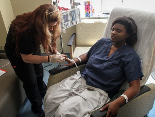 How hs student attended her graduation from hospital for 66 nail salon neptune nj