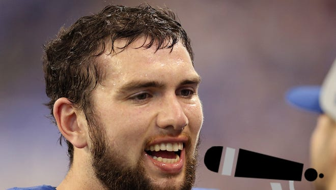 A song for Andrew Luck to Reggie Wayne
