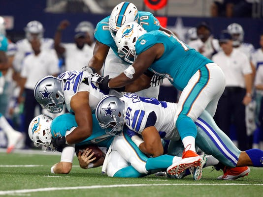 NFL: Preseason-Miami Dolphins at Dallas Cowboys
