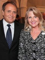 Jonnie Williams and Maureen McDonnell