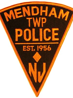 Mendham Township Police Department patch