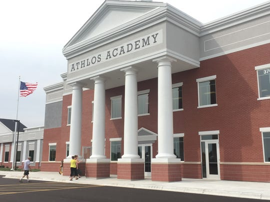 Athlos Academy, pictured in August 2016