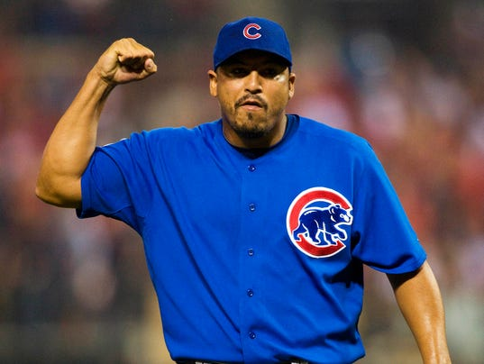 USP MLB: CHICAGO CUBS AT ST. LOUIS CARDINALS S BBN USA MO