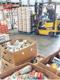 Second Harvest provided 11,000 pounds of food annually to the Shelter to supplement the community contributions, said food bank CEO Rich English.