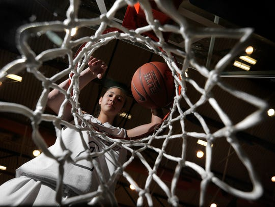 Former Burges basketball player Rebecca Cardenas is a former El Paso Times girls basketball Player of the Year.