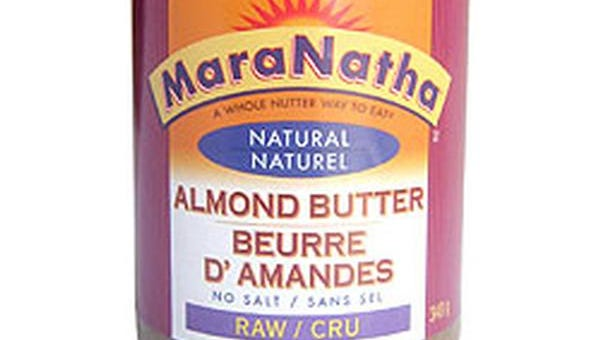 MaraNatha almond butter is among those being recalled. Check the web site to find dates and lot numbers.