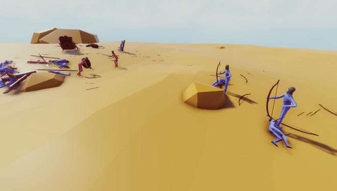 A scene from 'Totally Accurate Battle Simulator'